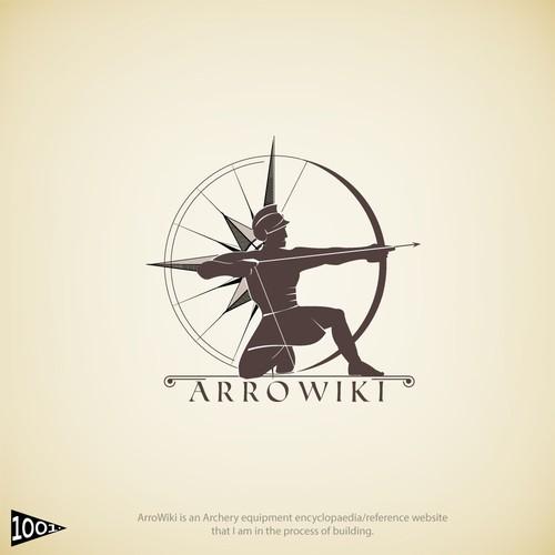 Archery logo with the title 'ARROWIKI'
