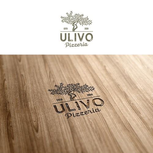 Italian logo with the title ' logo for Italian pizzeria'