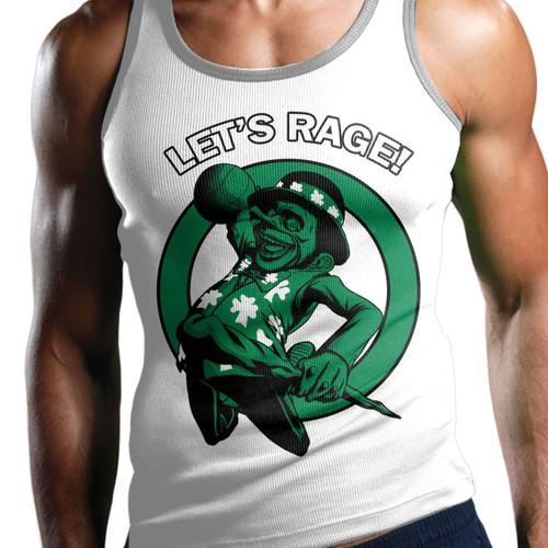 Basketball t-shirt with the title 'New t-shirt design wanted for LET'S RAGE! LLC'