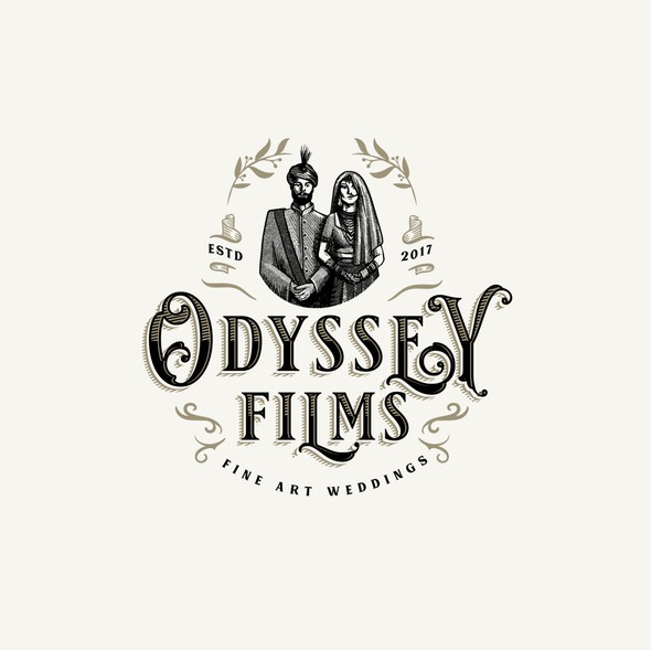 Engagement design with the title 'Odyssey Films Logo'