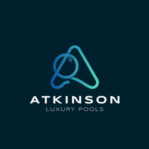 Pool design with the title 'Atkinson pools'