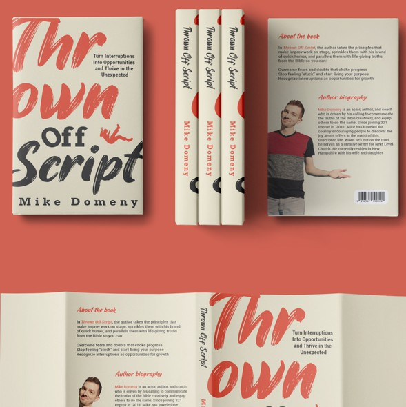 Typography book cover with the title 'Typography book cover'