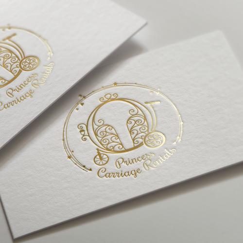 Sparkle design with the title 'Princess Carriage logo design'