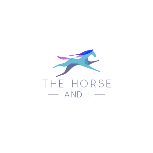 Equestrian logo with the title 'The Horse And I'
