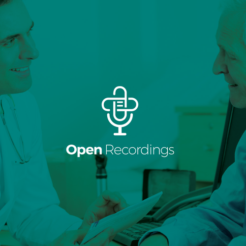 Physician logo with the title 'Logo for Open Recordings'