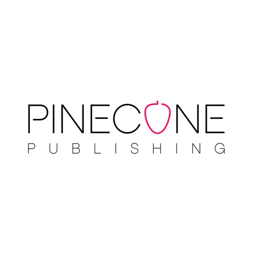 Publisher logo with the title 'Help Pinecone Publishing with a new logo'