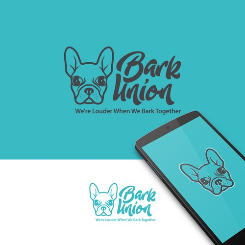 Dog brand with the title 'Bark Union'