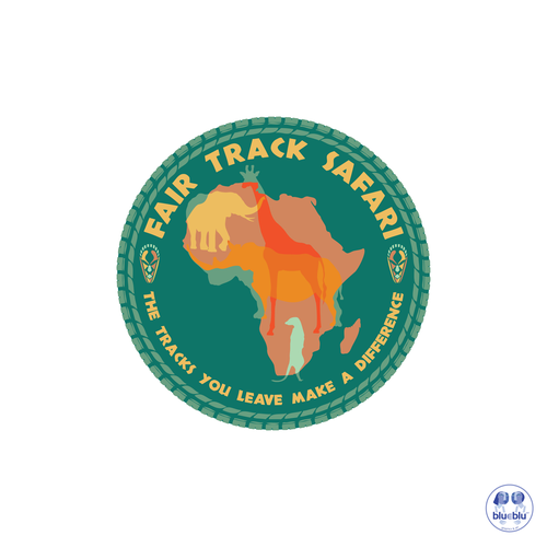 Truck logo with the title 'Africa'