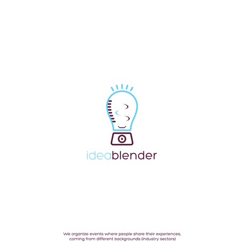 Sharing logo with the title 'Logo for ideablender'