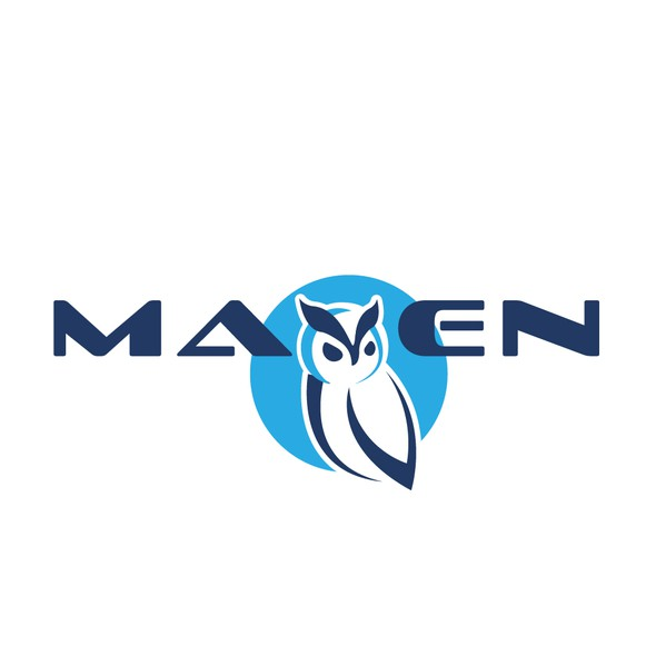Owl logo with the title 'LMS MAVEN'