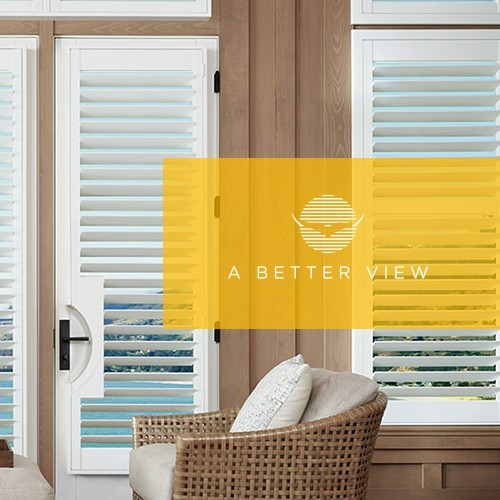 Shutter design with the title 'A Better View - Create One for Us!!'