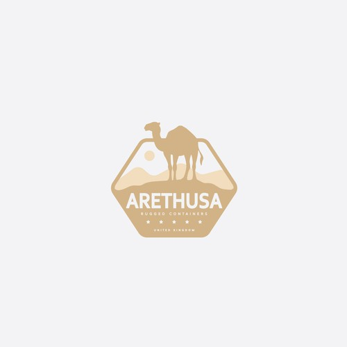 Camel logo with the title 'Arethusa'