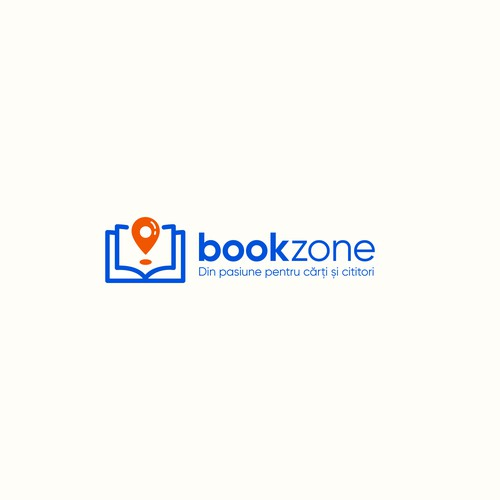 Bookstore logo with the title 'Logo for a E-commerce books website.'
