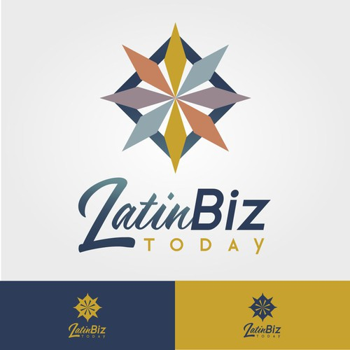 Latino logo with the title 'Latin Corporative Logo Style'