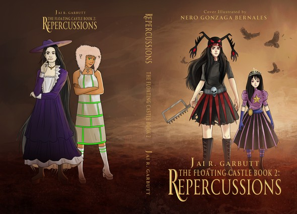 Drawing book cover with the title 'Repercussions '