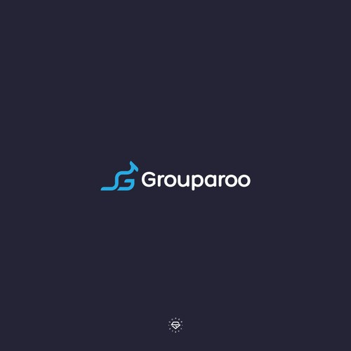 G logo with the title 'GROUPAROO LOGO'