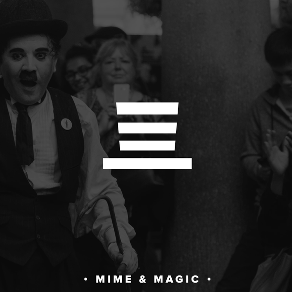Stripes logo with the title 'Mime and Magic'