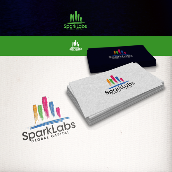 Sparkle logo with the title 'Capital Investments Fund Logo'