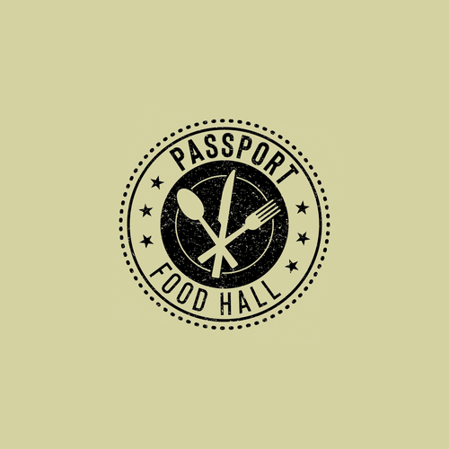 Eating design with the title 'Logo design for a travel inspired food hall'