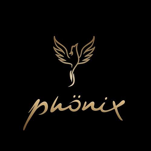 Brand with the title 'Phoenix bird logo'