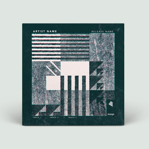 Artwork illustration with the title 'Album cover'