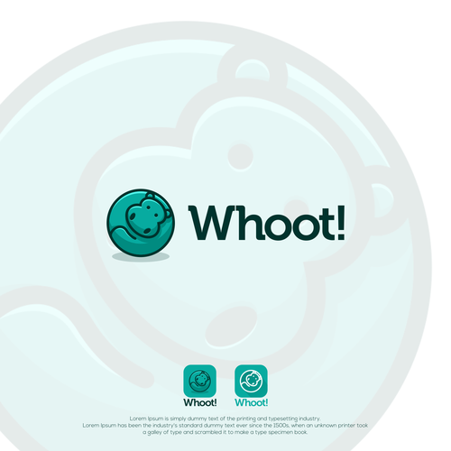 Hippo logo with the title 'Whoot!'