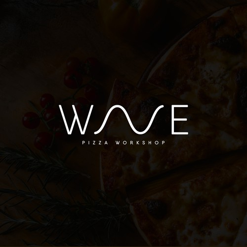 Italian food design with the title 'Wave '