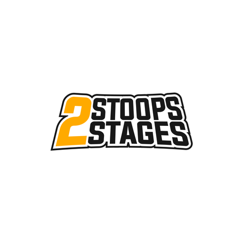 Rap design with the title 'Logo Concept for Stoops2Stages'