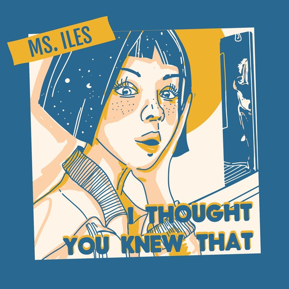Indie artwork with the title 'Illustration for cd cover'