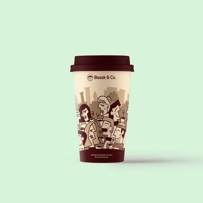 Bassk&Co.的咖啡杯