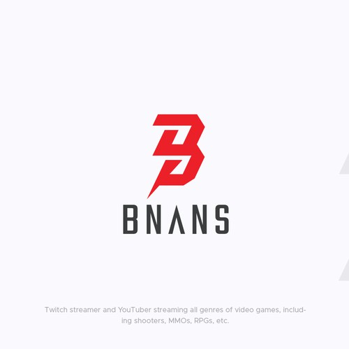 Streamer design with the title 'BNANS'