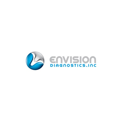 Glossy design with the title 'Create the next logo for Envision Diagnostics, Inc.'
