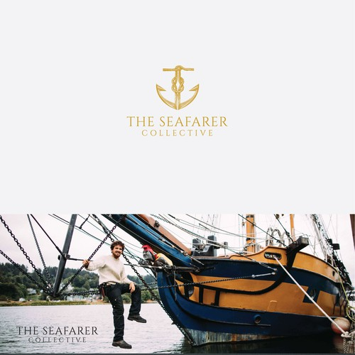 Classic brand with the title 'Brand identity for The Seafarer Collective '
