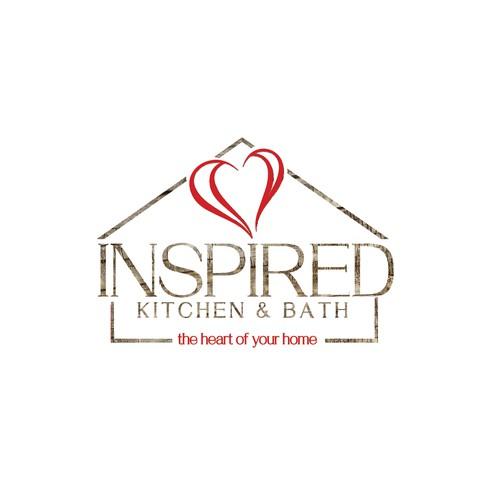 Bath logo with the title 'kitchen & bath logo'
