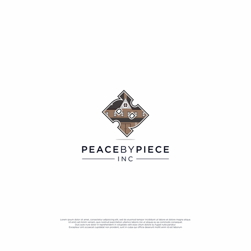 P brand with the title 'Peace by Piece, Inc.'