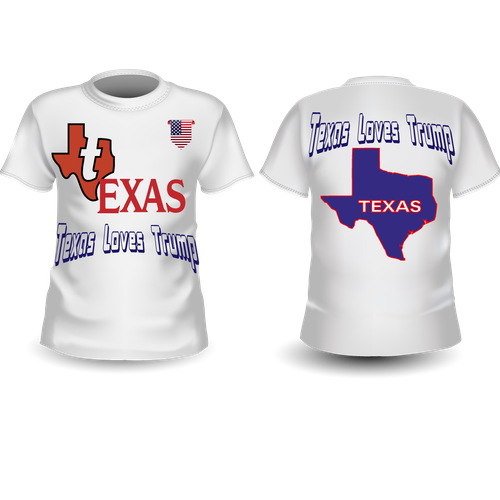 Texas t-shirt with the title 'Texas T-shirt Design'