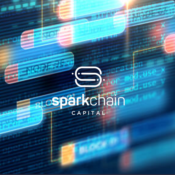 Chain design with the title 'SparkChain Capital'