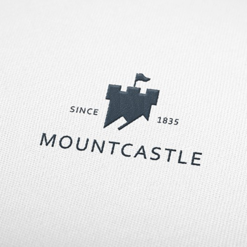 Gray design with the title 'Mountcastle'
