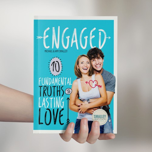 Marriage book cover with the title 'Book Cover for Engaged'