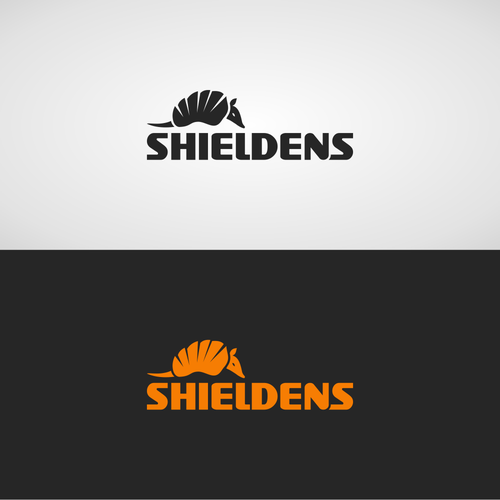Armadillo logo with the title 'Shieldens'