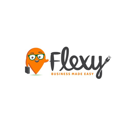 Location logo with the title 'Flexy'