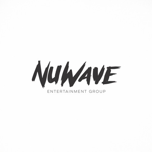 New logo with the title 'Nu Wave'