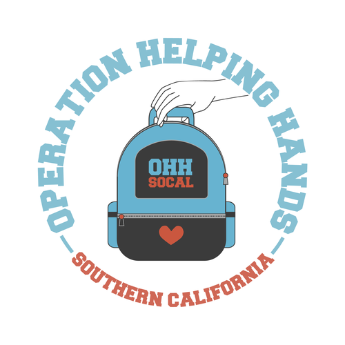 Operations logo with the title 'Logo design for Operation Helping Hands SoCal'