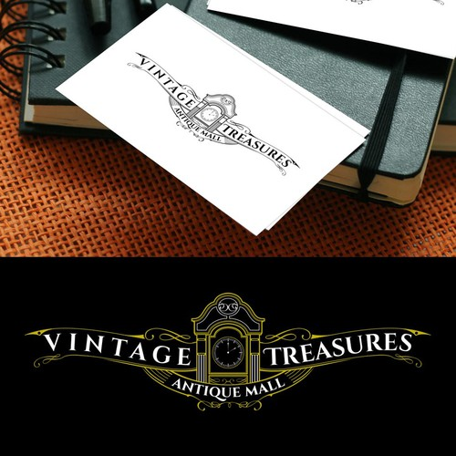 Fortune logo with the title 'Antique Treasures'