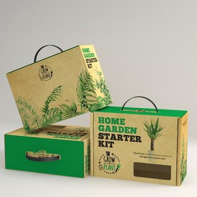 Packaging Design for Garden Kit