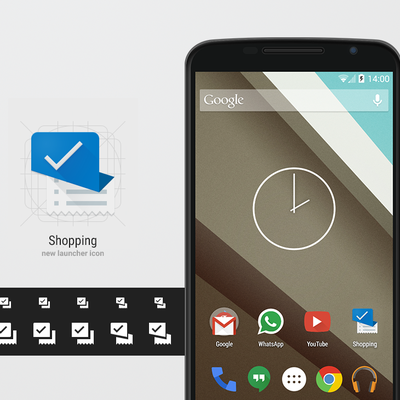 Android Shopping Icon