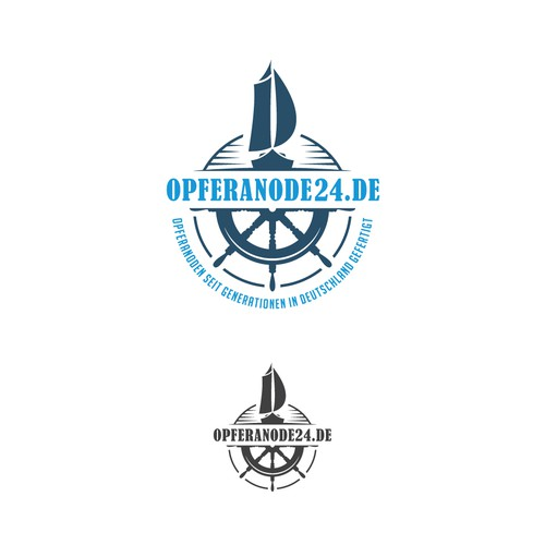 Maritime design with the title 'Contemporary logo for Maritime company'