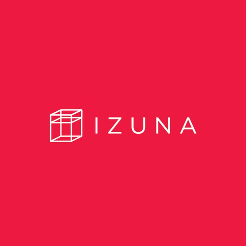 Cubic logo with the title 'IZUNA'