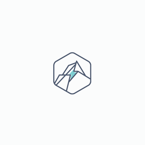 Simple brand with the title 'Energy mining logo'