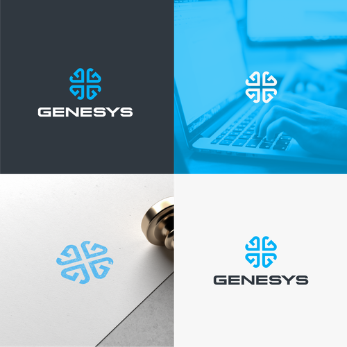 Sapphire logo with the title 'Genesys'